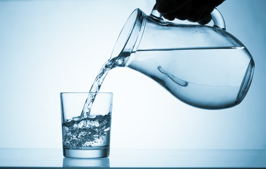drink water - glowing skin
